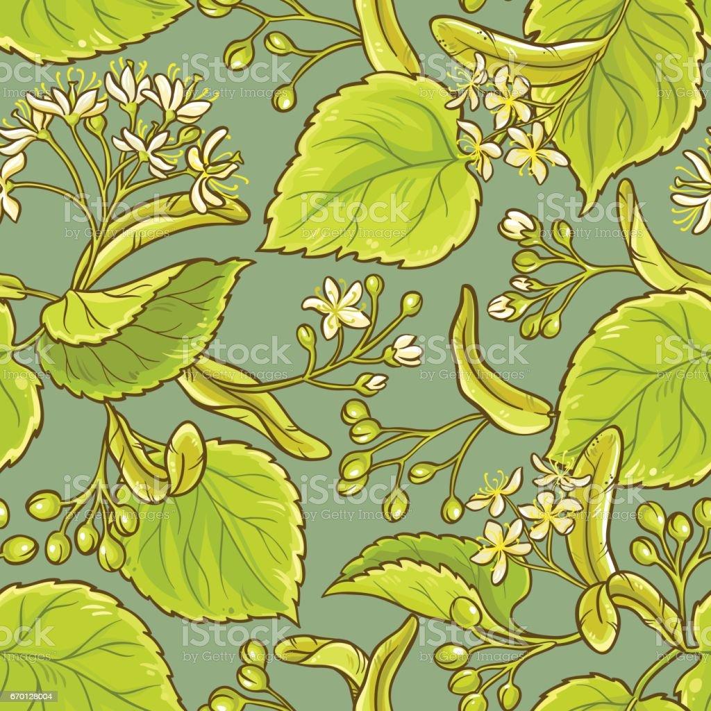 linden vector pattern vector art illustration