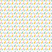 Line abstract seamless pattern with drops