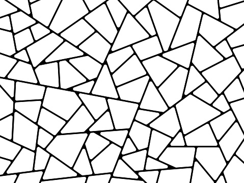 Line Abstract Shapes Background