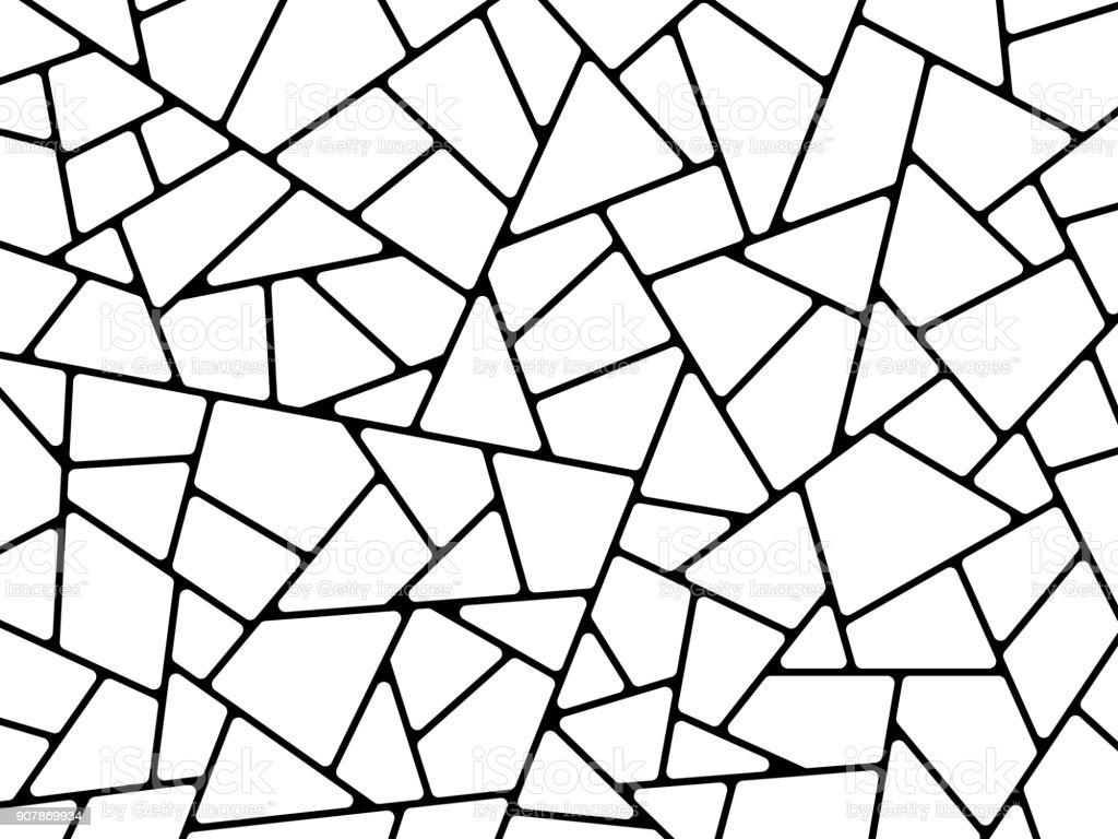 Linie abstrakte Formen Hintergrund – Vektorgrafik