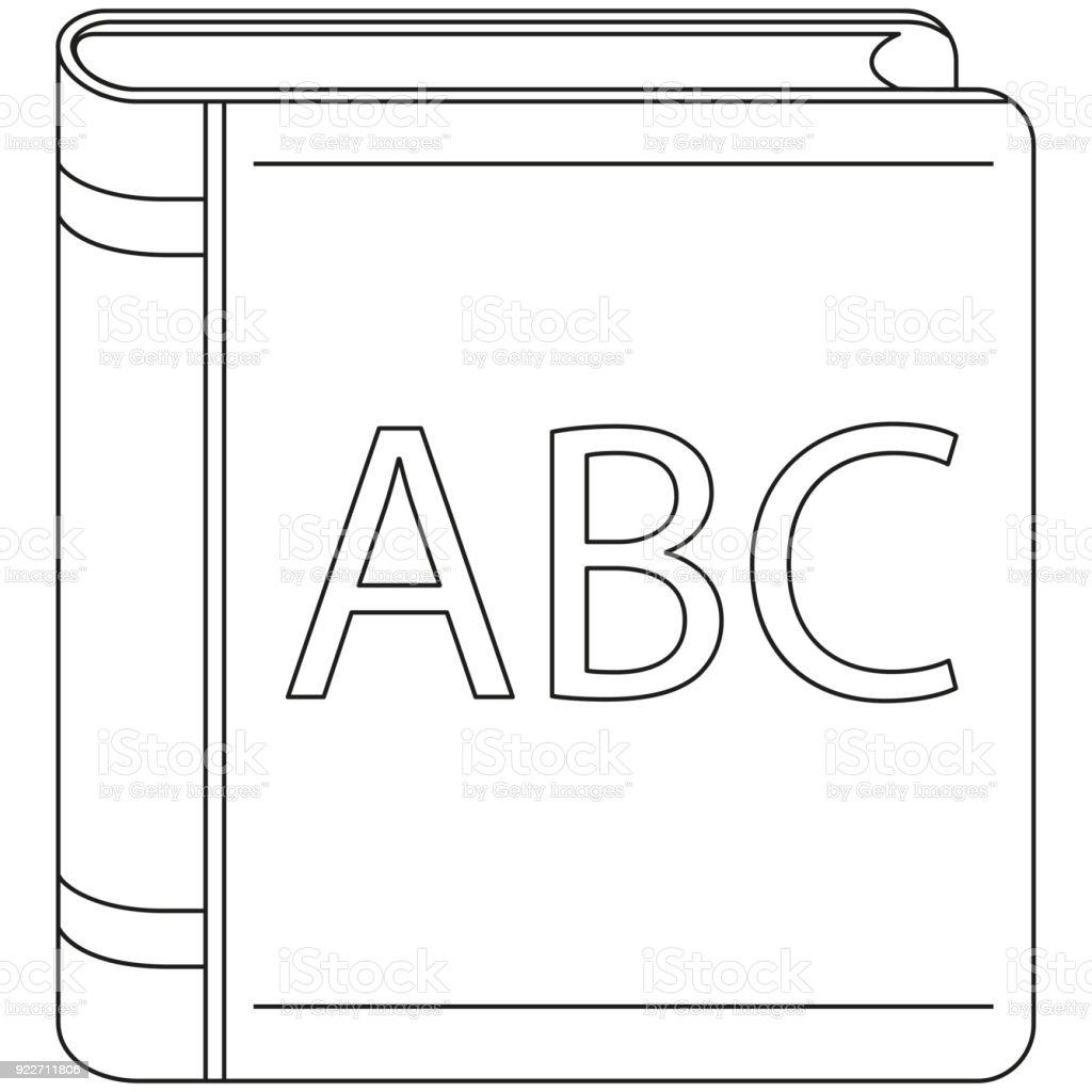 Couverture Du Livre Art Noir Et Blanc Icone Affiche La Ligne