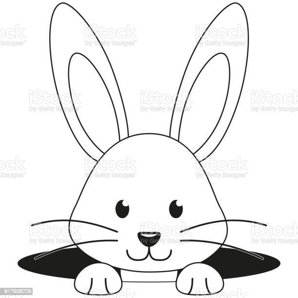 Line art black and white rabbit face hole icon vector id917908276?b=1&k=6&m=917908276&s=612x612&h=9w1gxgyhar4l7latqea4ie2ki5bnhpkgzwbwcd xasi=