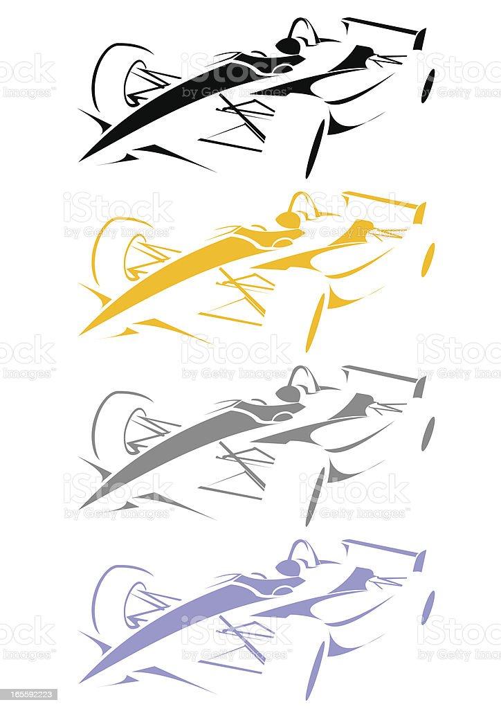 Line art formula vector art illustration