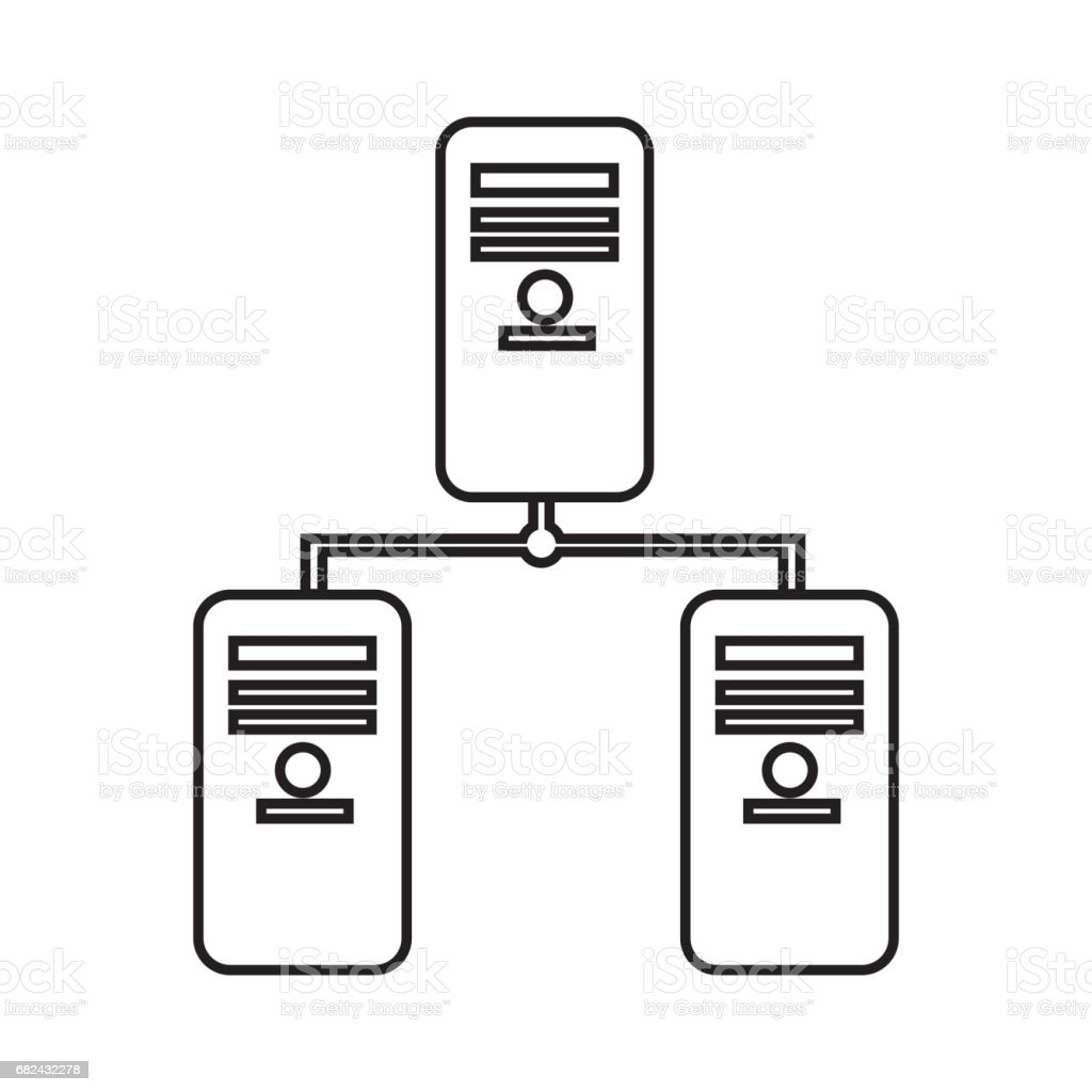 line banner data center digital connection royalty-free line banner data center digital connection stock vector art & more images of banner - sign