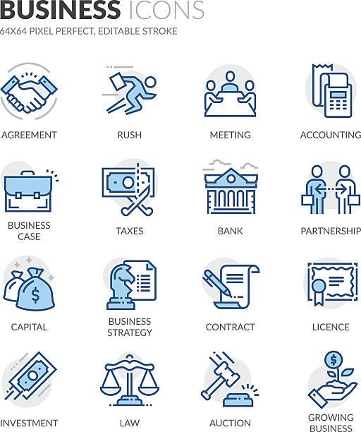 ilustraciones, imágenes clip art, dibujos animados e iconos de stock de iconos de negocios - taxes