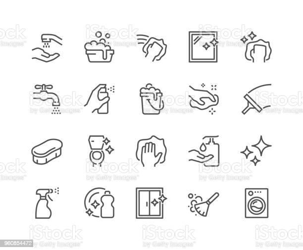 Line cleaning icons vector id960854472?b=1&k=6&m=960854472&s=612x612&h=3tu8ku8a0huthrtuoysackabtrjckak q6qt mndmpy=