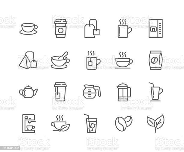 Line coffee and tea icons vector id971004998?b=1&k=6&m=971004998&s=612x612&h=8wc7ia3eiz5zi0aenpka7m2pejiiyoq wo6pfp9exsu=
