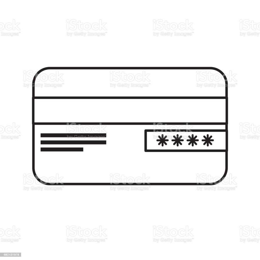 line credit card financial and security transaction royalty-free line credit card financial and security transaction stock vector art & more images of bank