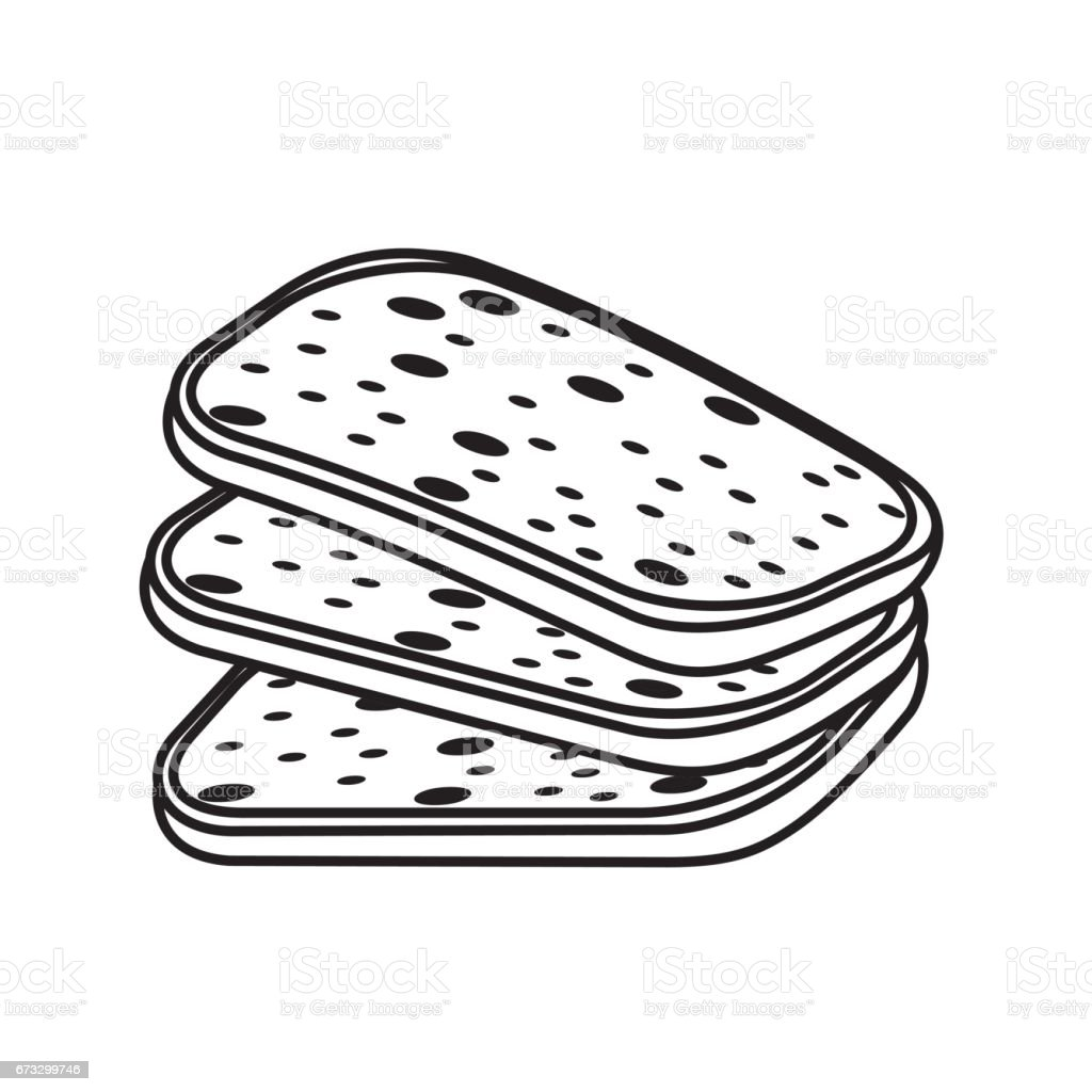 line delicious fresh bakery slice bread royalty-free line delicious fresh bakery slice bread stock vector art & more images of baked