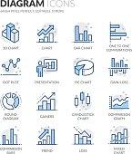 Line Diagram Icons