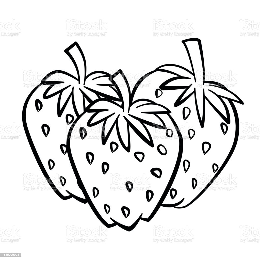 Uncategorized Drawing Of Strawberry line drawing of strawberry simple vector stock art royalty free art
