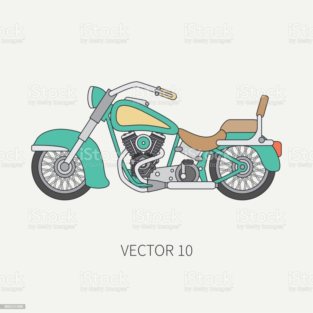Ausrüstung Biker vintage motorcyclist Ausrüstung (10