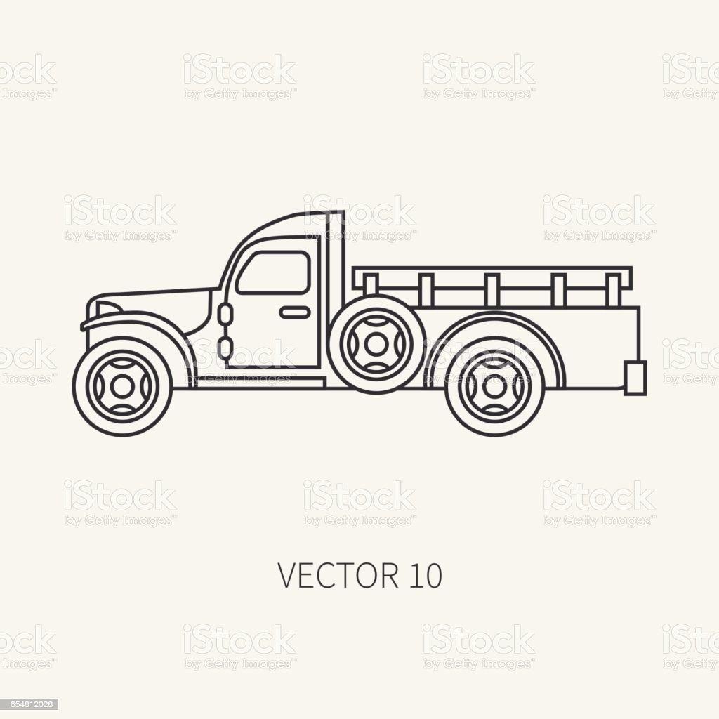 Ilustración de Línea Plana Simple Vector Icono Servicio Personal ...