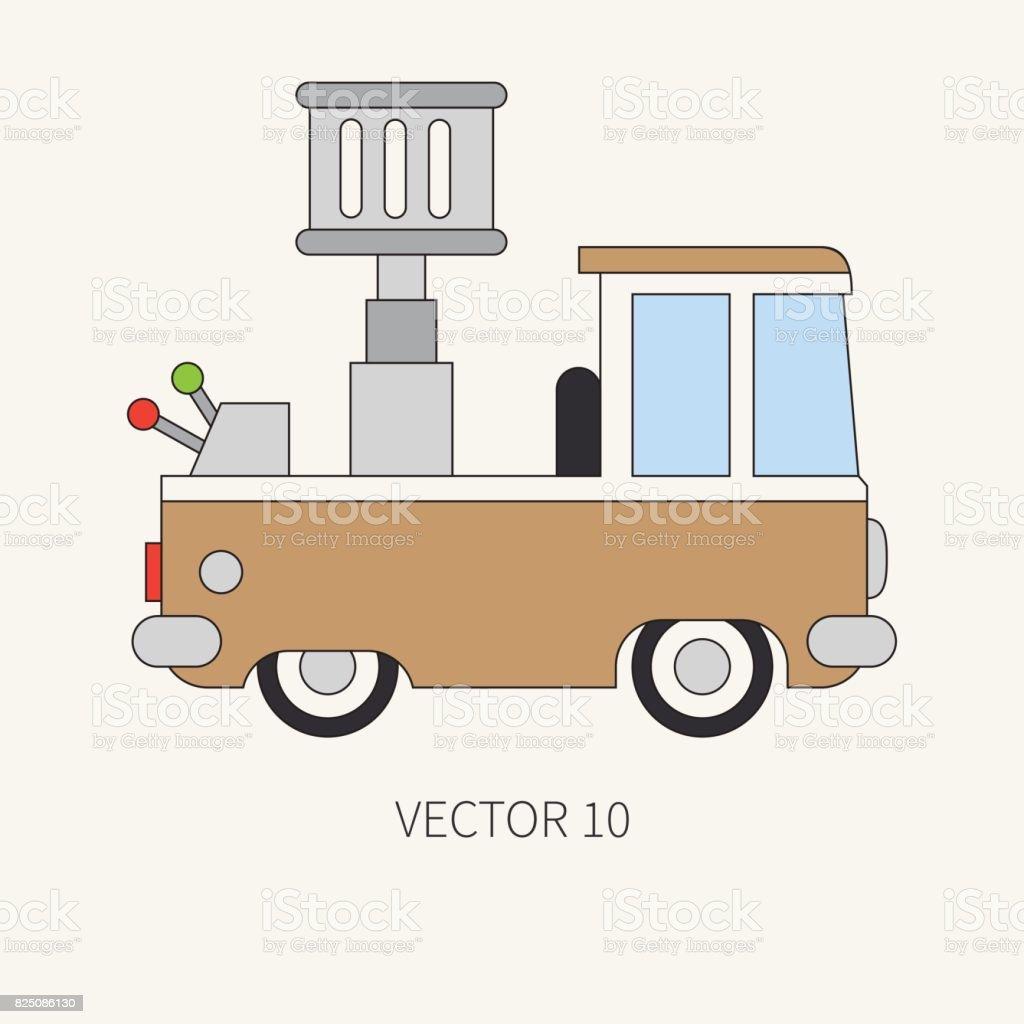 Ilustración de Línea Vector Plano Color Icono Servicio Personal ...