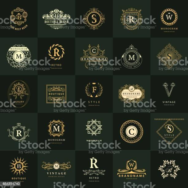 Line graphics monogram vintage logos design templates set business vector id654314740?b=1&k=6&m=654314740&s=612x612&h=ydgfhgqh7nfbhipm68gy0hvqn28r3pvpz 5qdg3hkcm=