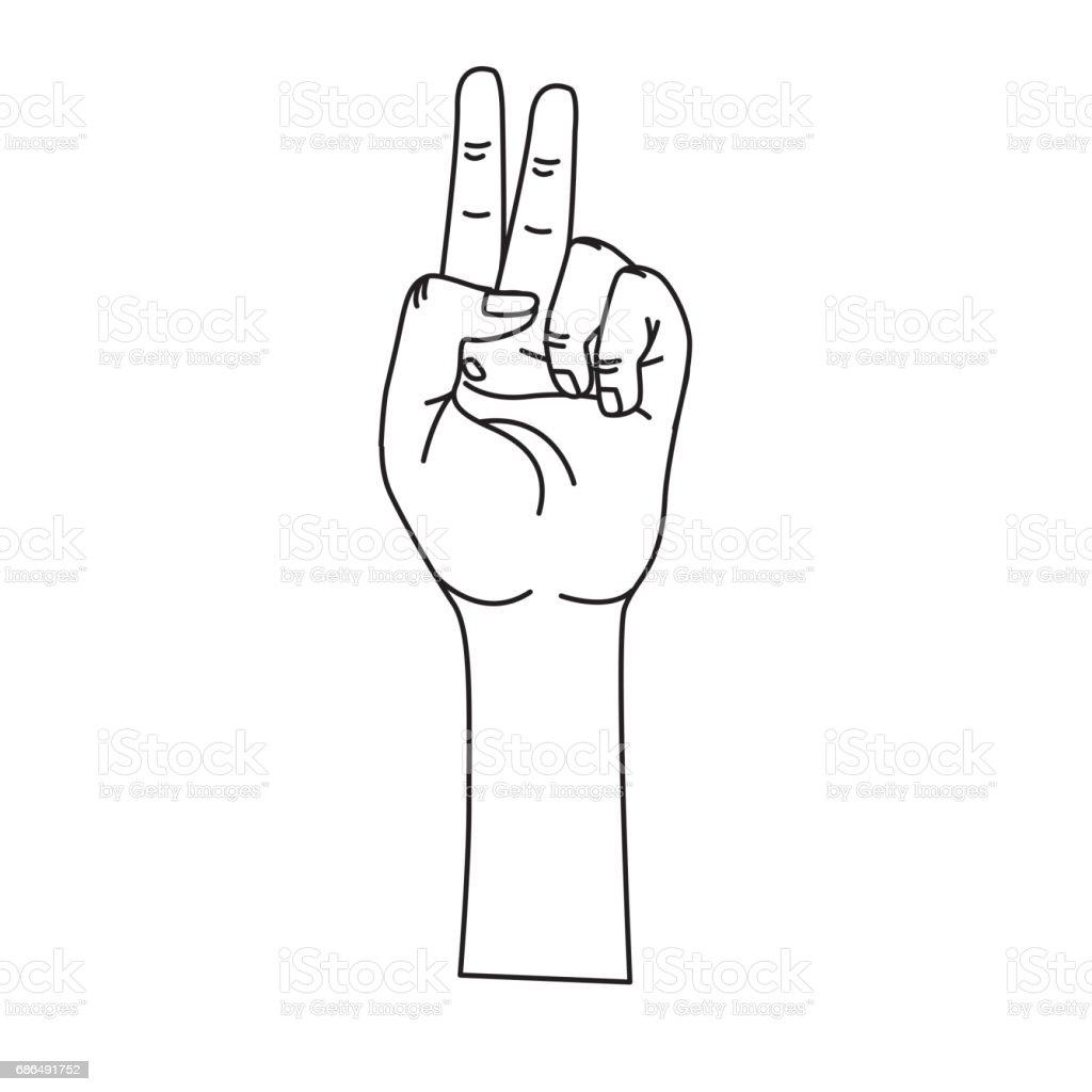 Middle finger text symbol choice image symbol and sign ideas middle finger text symbol gallery symbol and sign ideas line hand with middle finger and fingerprint buycottarizona
