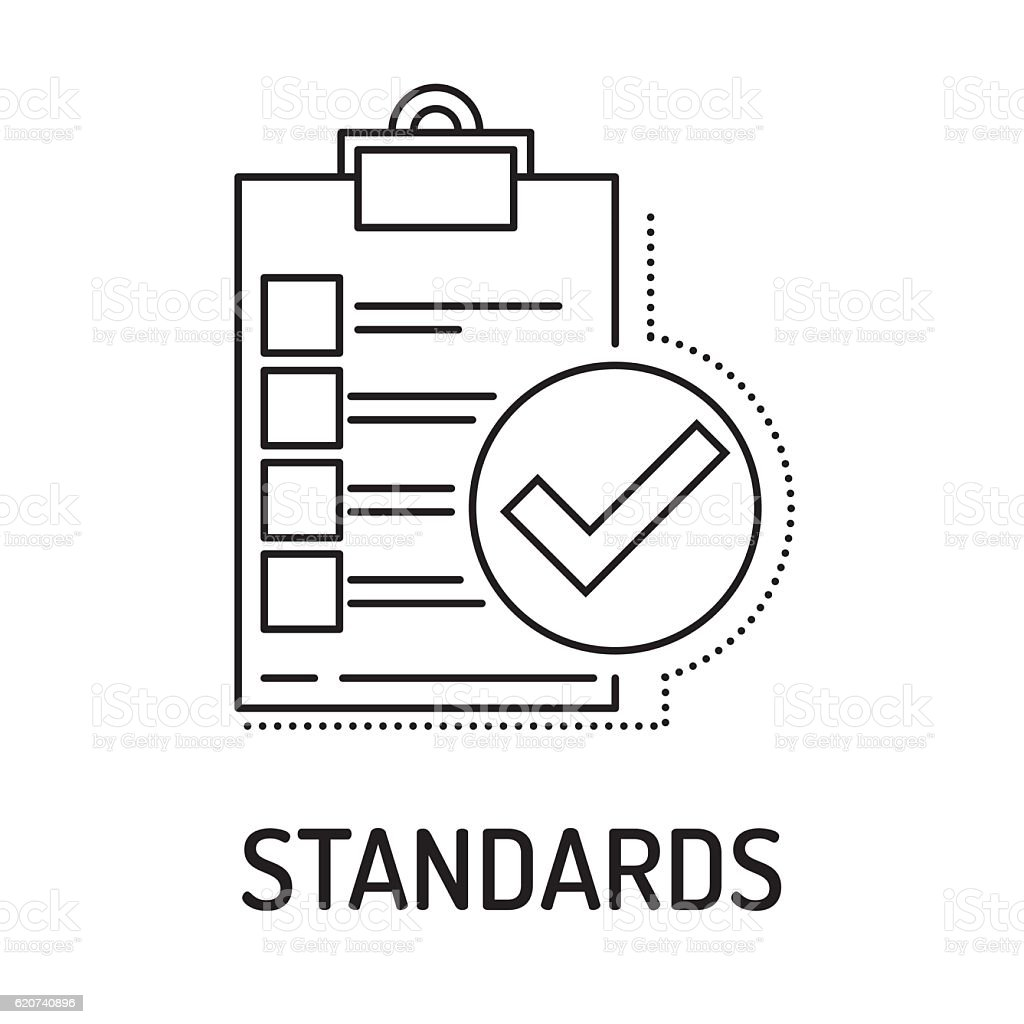 standards line icon stock vector art  u0026 more images of adult