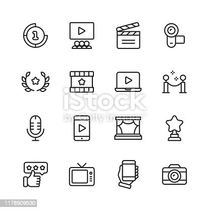 16 --- Outline Icons.