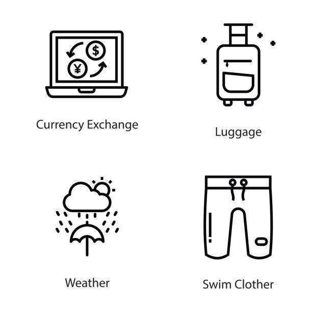 Bекторная иллюстрация Line Icons Pack