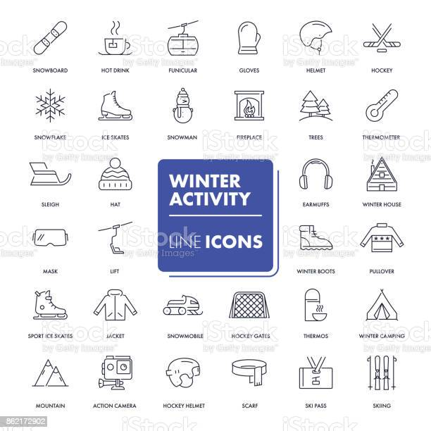 Line icons set winter activity vector id862172902?b=1&k=6&m=862172902&s=612x612&h=hdjkjrfeq60yh yout453llhgoyxscfcto1 ywo7lsu=