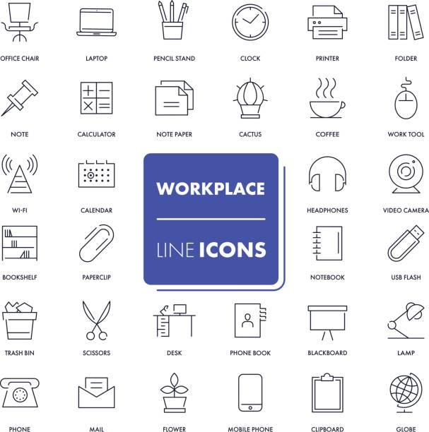 行のアイコンを設定します。職場 - トレーニングのカレンダー点のイラスト素材/クリップアート素材/マンガ素材/アイコン素材