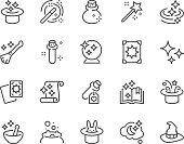 Line Magic Icons