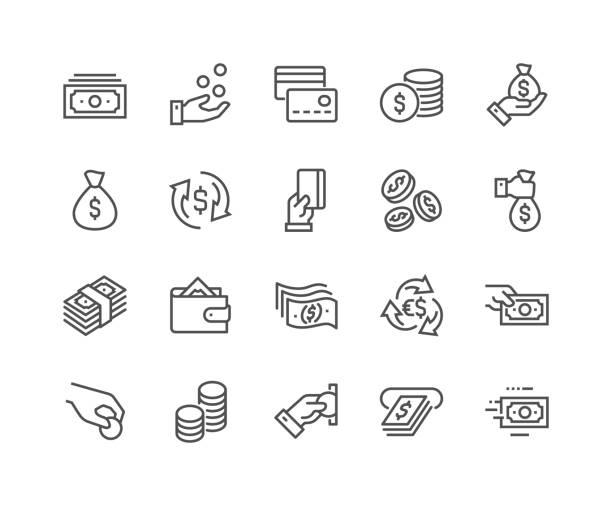 行貨幣圖示 - money 幅插畫檔、美工圖案、卡通及圖標