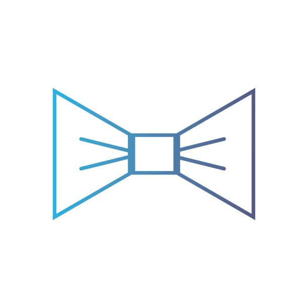 schöne fliege stil dekoration liniendesign - batikhemden stock-grafiken, -clipart, -cartoons und -symbole