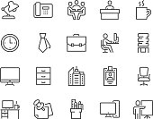 Line Office Icons