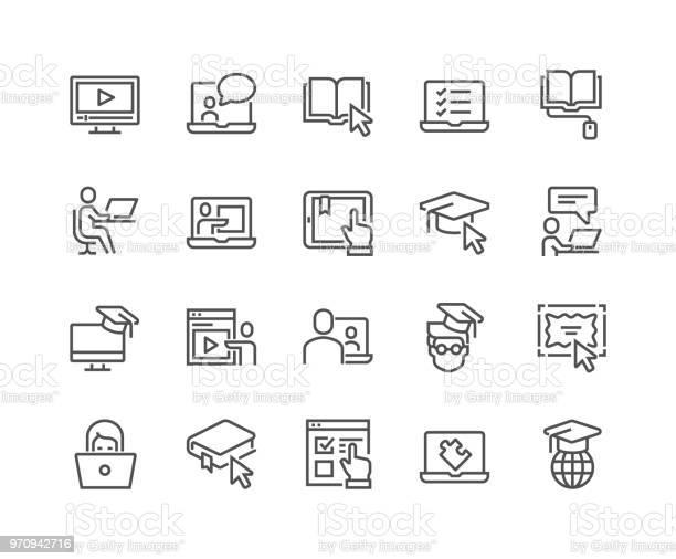 Line online education icons vector id970942716?b=1&k=6&m=970942716&s=612x612&h=jc9k3l9 zkrhzfw22qgi7 vakxekywyzi45hzdbfjty=