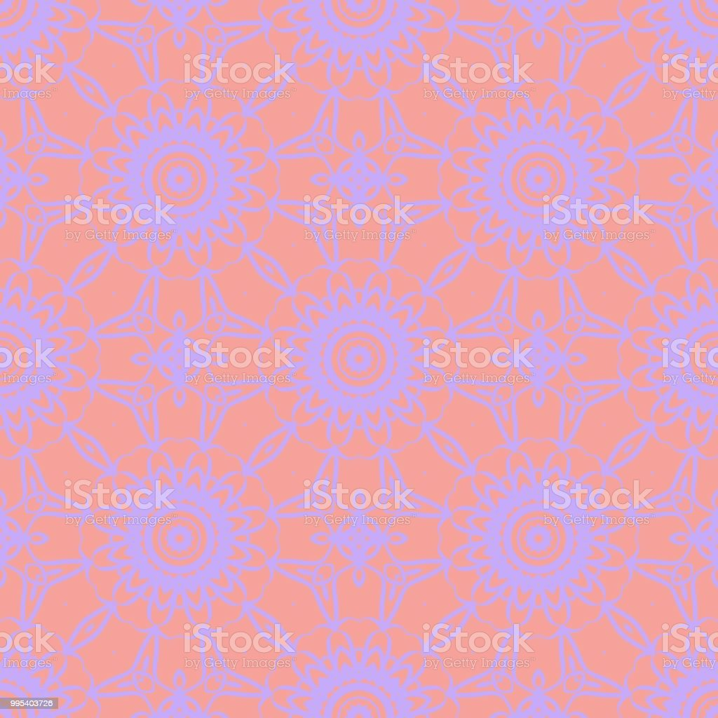 Line Pattern On Color Background Seamless Geometric Vector Illustration For Design