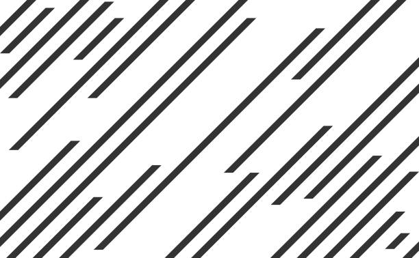 Line pattern, speed lines vector art illustration