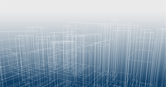 Line perspectives structure architecture pattern background
