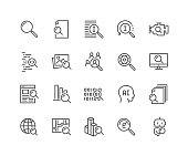 istock Line Search Icons 1131829624
