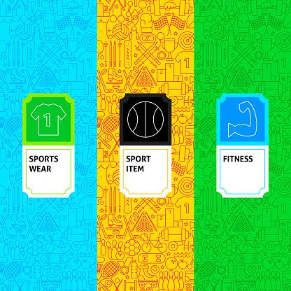Line Sport Package Labels