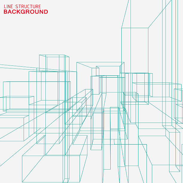 line structure background line structure background architecture backgrounds stock illustrations