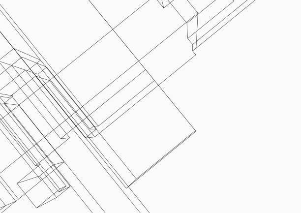 Line structure pattern backgrounds Line structure pattern backgrounds architecture backgrounds stock illustrations
