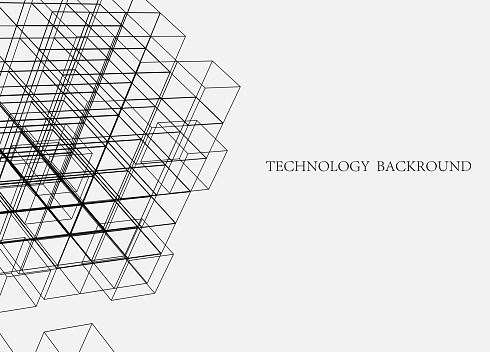 Line structure technology backgrounds