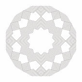 istock Line style geometric grids pattern for design 1240922400