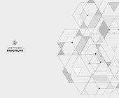 Line style geometric pattern background