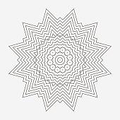 istock Line textured grids pattern 1240931534