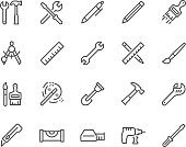 Line Tools Icons