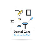 Linear - Dental Care Cabinet