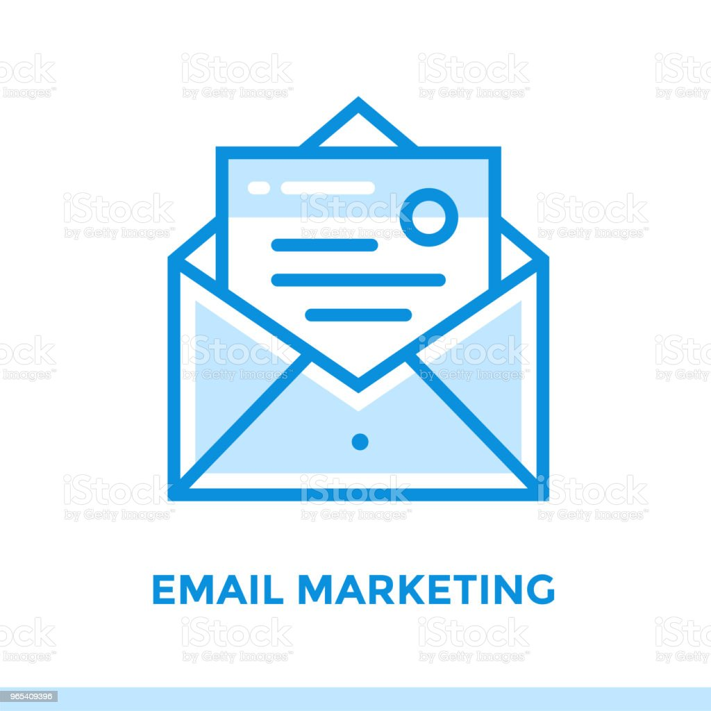 Linear email marketing icon for startup business. Pictogram in outline style. Vector flat line icon suitable for mobile apps, websites and presentation linear email marketing icon for startup business pictogram in outline style vector flat line icon suitable for mobile apps websites and presentation - stockowe grafiki wektorowe i więcej obrazów bez ludzi royalty-free