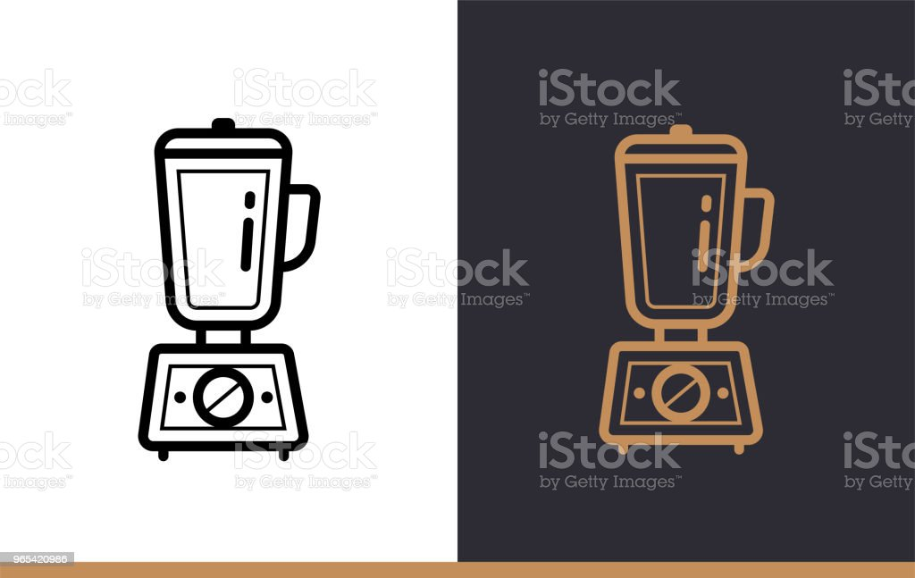 Linear icon HAND BLENDER of bakery, cooking. Pictogram in outline style. Suitable for mobile apps, websites and presentation linear icon hand blender of bakery cooking pictogram in outline style suitable for mobile apps websites and presentation - stockowe grafiki wektorowe i więcej obrazów bez ludzi royalty-free