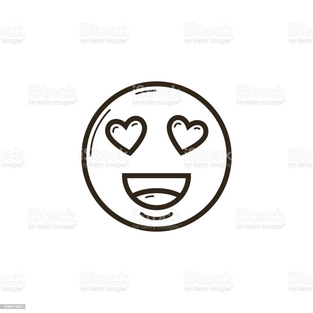 Verliebtes smiley