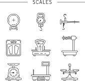 Linear icons of scales