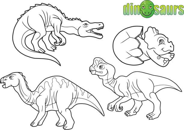 Vectores de Huevo De Dinosaurio y Illustraciones Libre de Derechos ...