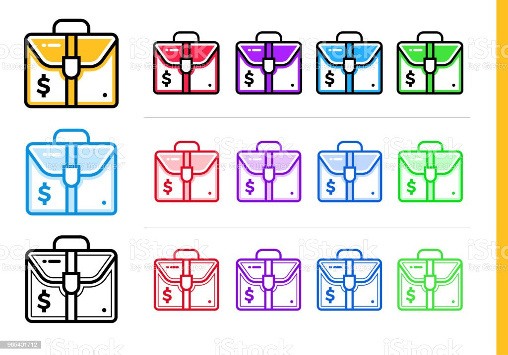 Linear investment icon for startup business in different colors. Vector elements suitable for website, mobile application and presentation royalty-free linear investment icon for startup business in different colors vector elements suitable for website mobile application and presentation stock vector art & more images of business