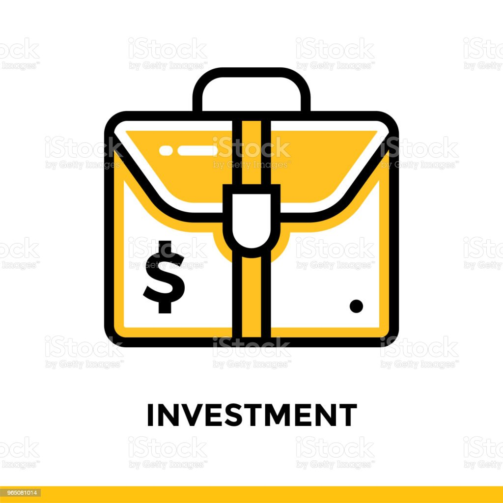 Linear investment icon for startup business. Pictogram in outline style. Vector flat line icon suitable for mobile apps, websites and presentation linear investment icon for startup business pictogram in outline style vector flat line icon suitable for mobile apps websites and presentation - stockowe grafiki wektorowe i więcej obrazów bez ludzi royalty-free